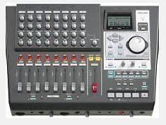 Tascam DP01FX-CD Digital Eight Track Recorder