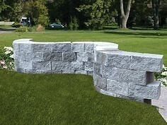 Large assortment of retaining walls