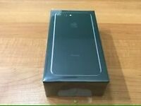 Brand new iPhone 7 plus 256GB jet black sealed unlocked