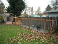 NEED CONCRETE / CEMENT FOR DOG RUN OR DOGHOUSE PAD?