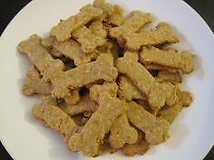 24 Gluten Free Cheeseburger Dog Treats