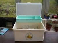 BABY NAPPY STORAGE BOX