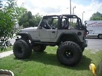 Wanted JEEP tj or any 2 door jeep for mud