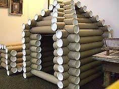 Cardboard Tubes 4 and 5 metre length - FREE!