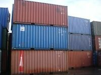 Blow Out of 20ft Used SD Containers 2430.00/each - Delta