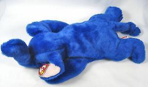 Royal Blue Peanut Beanie Baby 188202bd5ac