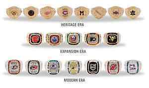 Molson Stanley Cup Rings set of 20