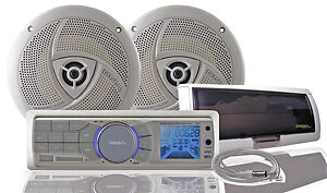 WCMA5B Complete Bluetooth Marine Audio System for Ski/Fish Boats Underdale West Torrens Area Preview