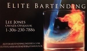 Mobile bartending and portable bars for business functions.