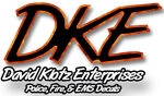 DKE Decals Fire and EMS