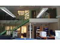 Mezzanine Floor for sale approx 5.8 x 12.7 m and a floor height of 2.8M. Buyer need to take down