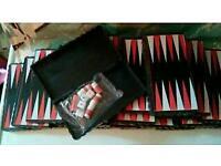 Joblot of portable backgammon games