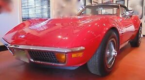 1971 corvette stingray convertible all number matching 454 mint