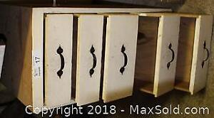 """Wooden Shop cabinet with 5 drawers Pick up in Time-slot """"A"""""""