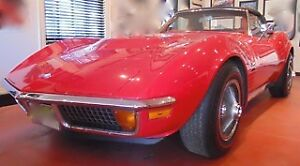 1971 corvette stingray convertible 454  LS5 all number matching