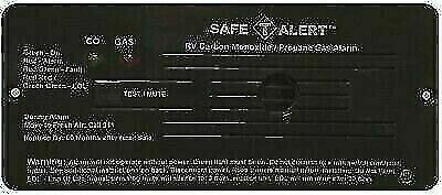Safe-T-Alert 35-742-BL Black Flush Mount Propane/Carbon Monoxide Gas Alarm
