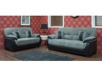 NEW LEATHER AND FABRIC SOFAS IN TIME FOR XMAS !!