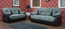 NEW LEATHER AND FABRIC SOFAS PRE XMAS DELIVERY !!