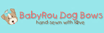 BaByRoU Dog Bows