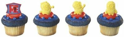 New Despicable Me Minions Cupcake Rings One Dozen - Cupcake Minions