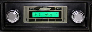 1969-1977  Camaro AM FM Radio USA-230 IPOD MP3 Aux inputs