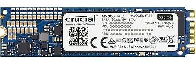 Crucial MX300 525GB M.2 (2280) SSD SATA 7mm 530MB/s internal SSD CT525MX300SSD4