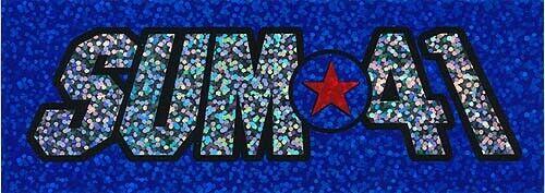 Sum 41 Half Hour of Power RARE promo sticker 2000