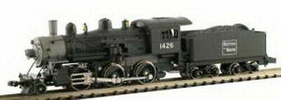Model Power ~ N Scale ~ Boston & Maine 2-6-0 Steam Engine ~ DC ~ New ~ 87601