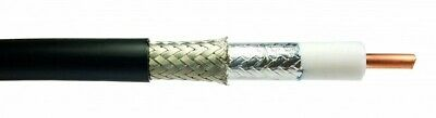 10ft Coax Cable assembly RFC600 LMR600 grade low loss with connectors of choice Coax Cable Assembly