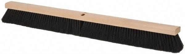 "PRO-SOURCE 36"" General Purpose Horsehair Blend Push Broom 3"" Bristle Length, ..."
