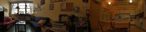 Big sunny furnished room :) Grande chambre ensoleillée, meublée!