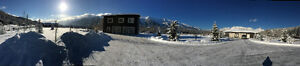 5 acres with house and 1800 full facility heated shop. FERNIE,BC