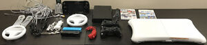 Wii U 16gb Console and controller with many extras