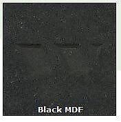 Black MDF Board