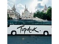 Topdeck Coach Driver 2018 - Europe