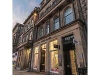 Flexible membership co-working space available at Edinburgh, George Street