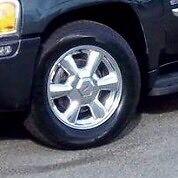 GMC Envoy Chevy Trailblazer OEM Chrome mags