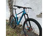 cube stereo mountain bike