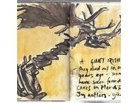 Keeping a Sketchbook Journal taster