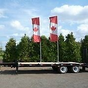 Tandem Dually Equipment Floats by Miska Trailers