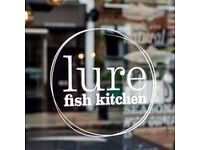 Lure Fish Kitchen , Seeks Fabulous Front of House Team Member