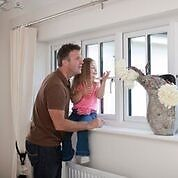 white or brown upvc windows fitted from £399