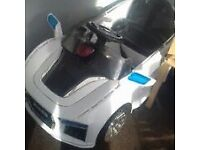 CHILDS RIDE ALONG ELECTRIC CAR SPARES OR REPAIRS