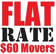 $60 flat RATE movers - 647-931-1829