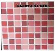 Red Mosaic Tiles