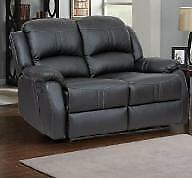 Floor Model Brown or Black Love Seat $400 taxes included