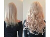 """Full Head indian remy AAAAA Pre Bonded Hair Extensions £130!! """"""""Half Price Offer"""""""""""
