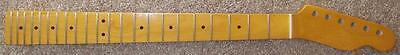 Vintage Tint Maple Neck 22 Mj Frets 12  Radius 2 1 4  Heel 42Mm 10Mm Brand New