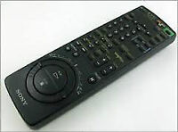 Sony remote control for VCR/TV