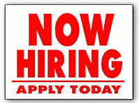 Start your new career today!!  Full-Time Openings!!